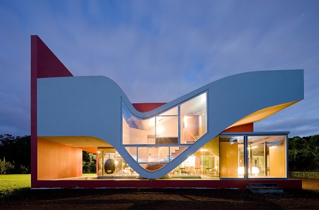 House of Birds  See the future: best futuristic styled houses 49ej