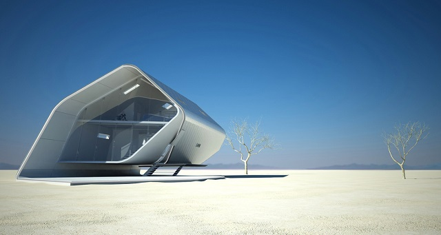 California  Roll House  See the future: best futuristic styled houses California Roll House 03