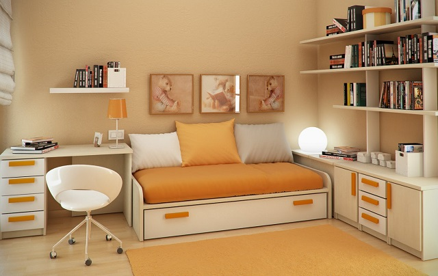 Small bedroom  Get the best out of a small space bedroom