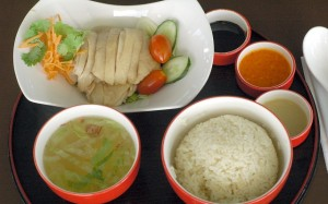 Hainanese-Chicken-Rice  What to eat in Singapore Hainanese Chicken Rice
