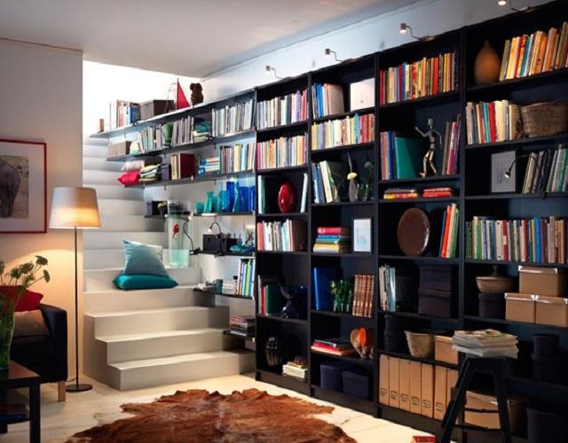 Hallways  10 creative Bookshelf design ideas Hallways7