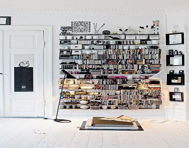 Louis-Poulsen-  10 creative Bookshelf design ideas Louis Poulsen