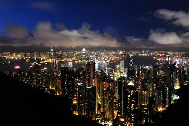 Victoria-peak  Must go in Hong Kong Victoria peak