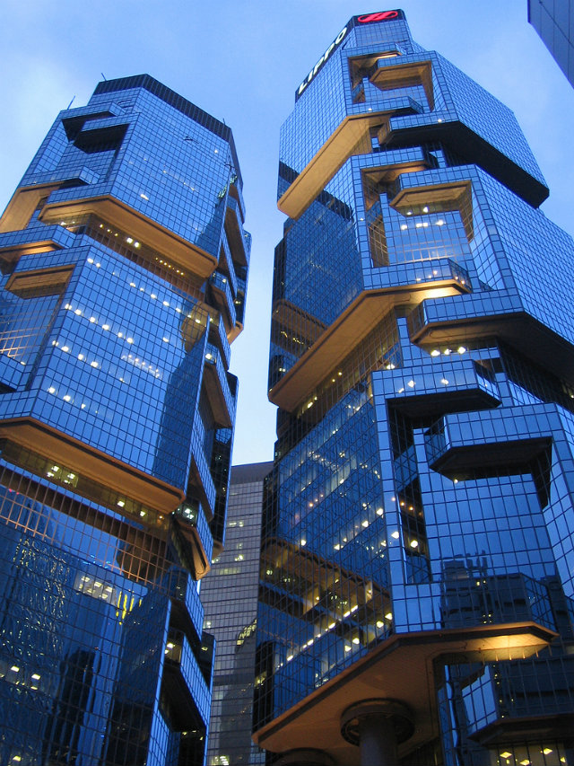 Lippo-Towers  Hong Kong's Top 10 : Modern Buildings Lippo Towers