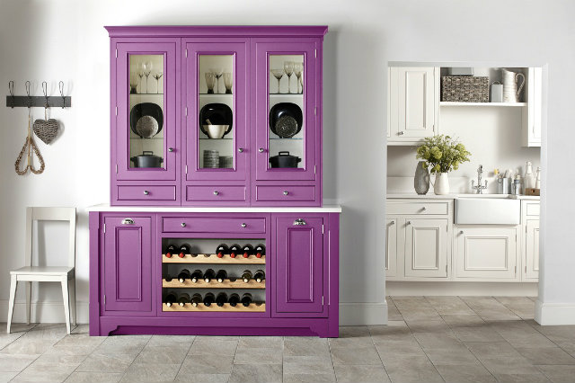 Radiant-Orchid-kitchen  Radiant Orchid - Spring Inspired Spaces Radiant Orchid kitchen