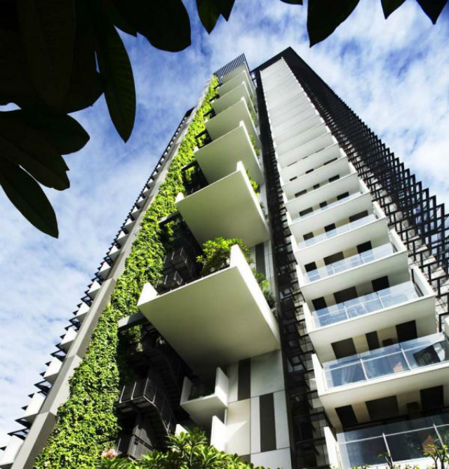 WOHA-Newton-Suites  Woha - TOP Green architecture WOHA Newton Suites