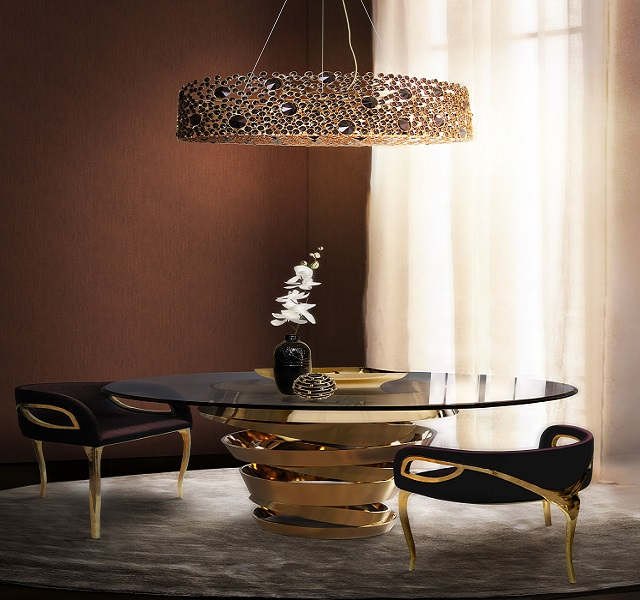 The designs that caught our eye at Maison&Objet Asia  The designs that caught our eye at Maison & Objet Asia eternity chandelier intuition dining table chandra dining chair koket The designs that caught our eye at MaisonObjet Asia