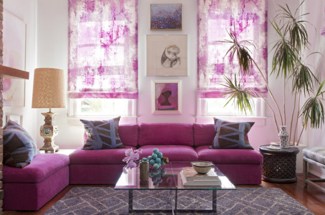 radiant-orchid-in-a-room  Radiant Orchid - Spring Inspired Spaces radiant orchid in a room