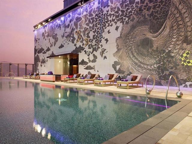 Suite-at-W-Hong-Kong-Asian-Interior-Design  5 Most Stunning Hotel Suites in Hong Kong Suite at W Hong Kong Asian Interior Design Asian Interior Design