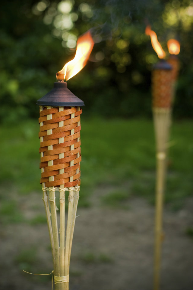 Tiki Torches Lights How To Add Light Your Outdoor