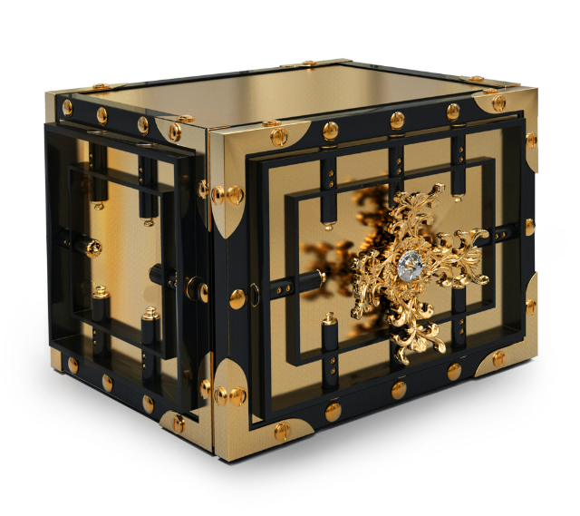 Knox-Luxury-Home-Safe-BY-bOCA-DO-LOBO  Knox Luxury Safe * Precious as Time KNOX TABLE TOP