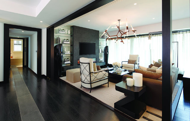 Luxury interior design in hong kong by kelly hoppen for Apartment design hk