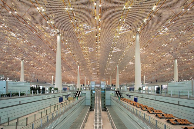 Beijing-Airport-The-World's-Largest-Airport-Building-Asian-Interior-Design  Beijing Airport - The World's Largest Airport Building Beijing Airport The Worlds Largest Airport Building Asian Interior Design 4