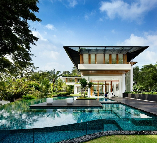 architecture-residence-Dalvey-Road  The Spectacular Tropical Singapore Bungalow by Guz Architects architecture residence Dalvey Road