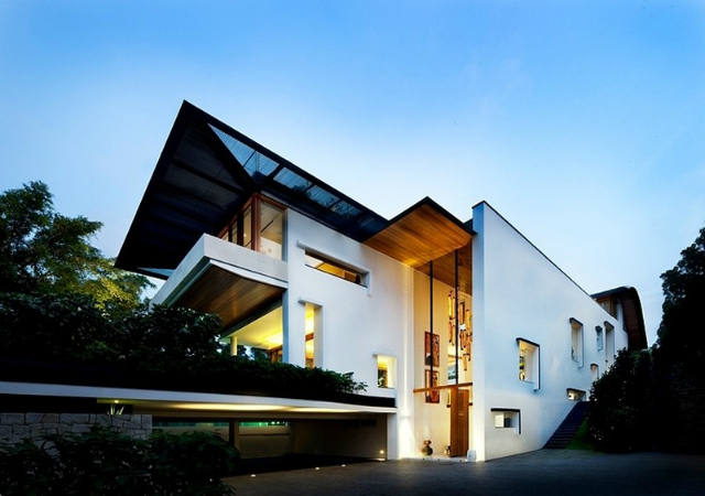 residence-Dalvey-Road  The Spectacular Tropical Singapore Bungalow by Guz Architects residence Dalvey Road 11