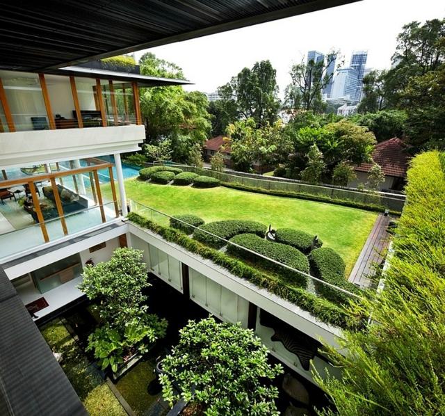 residence-Dalvey-Road  The Spectacular Tropical Singapore Bungalow by Guz Architects residence Dalvey Road 7