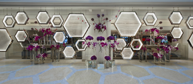 Exclusive-Interview-Miaja-Design-Group-Singapore  Exclusive Interview Miaja Design Group Singapore Artwork Main Lobby Installation Hexagon by MIAJA with Lasvit