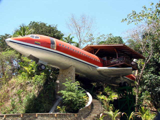TOP-Breathtaking-Places-You-Won't-Believe-Exist-An-Airplane-Hotel-Costa-Rica  TOP Breathtaking Places You Won't Believe Exist TOP Breathtaking Places You Wont Believe Exist An Airplane Hotel Costa Rica