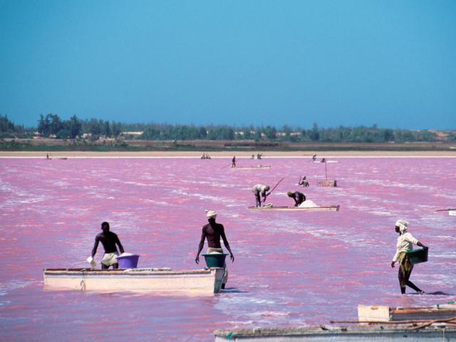 TOP-Breathtaking-Places-You-Won't-Believe-Exist-Lake-Retba-Lac Rose-Senegal  TOP Breathtaking Places You Won't Believe Exist TOP Breathtaking Places You Wont Believe Exist Lake Retba Lac Rose Senegal