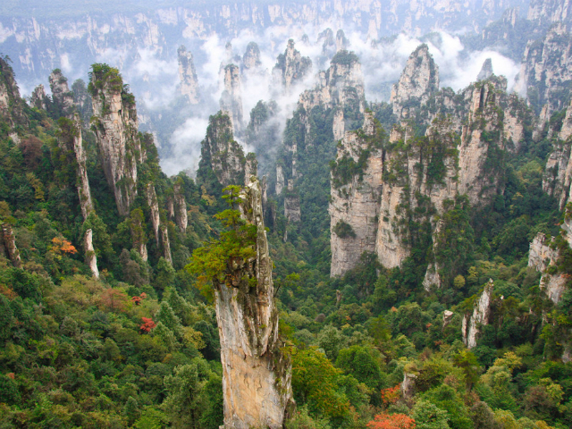 TOP-Breathtaking-Places-You-Won't-Believe-Exist-Zhangjiajie-National-Forest-Park-China  TOP Breathtaking Places You Won't Believe Exist TOP Breathtaking Places You Wont Believe Exist Zhangjiajie National Forest Park China