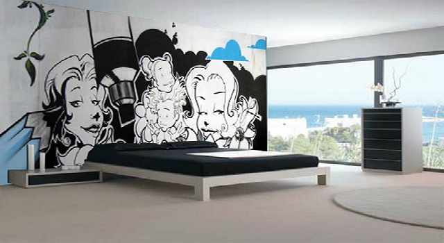 TOP-Decorating-Ideas-for-home-with-Graffiti  TOP Decorating Ideas for home with Graffiti TOP Decorating Ideas for home with Graffiti
