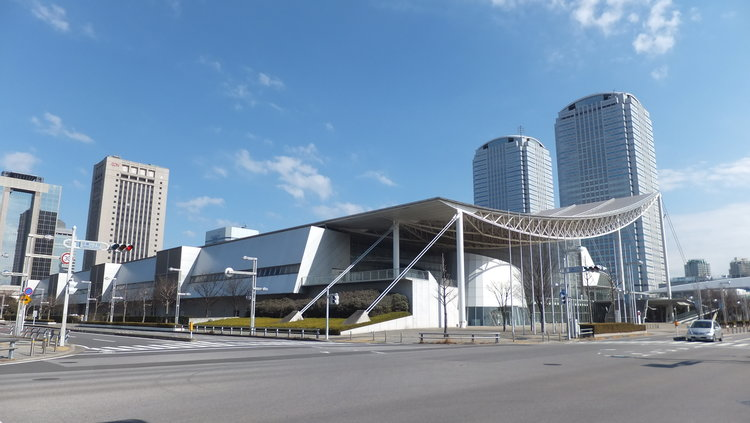top 10 japanese architects makuhari-messe  Top 10 Japanese Architects top 10 japanese architects makuhari messe